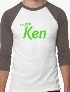 Ken and Barbie Matching Couple Shirt Men's Baseball ¾ T-Shirt