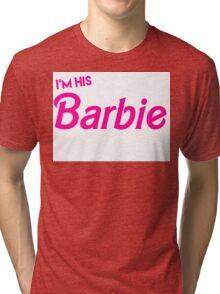 Barbie and Ken Matching Couple Shirt Tri-blend T-Shirt