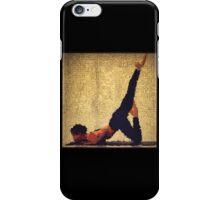 Yoga art 12 iPhone Case/Skin