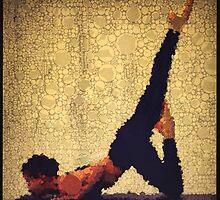 Yoga art 12 by John Dalton