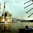 Ortakoy & the Fisherman by Can Berkol