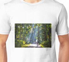 Morning Stream of Light Unisex T-Shirt