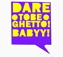 DARE TO BE GHETTO BABY!!!!! Mens V-Neck T-Shirt