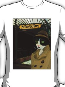 Inspector Clawseau, Parisian Cool Cat  T-Shirt
