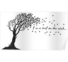 I'm a Leaf on the Wind Poster