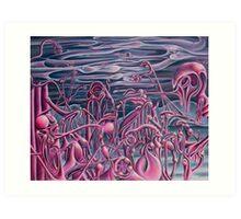 Her Mental Landscape Art Print