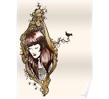 Girl in Mirror Poster