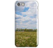 Field of Flowers N Clouds iPhone Case/Skin