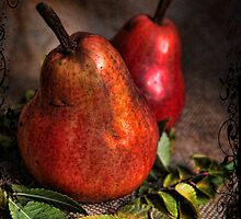 Red Pears by Barb Leopold
