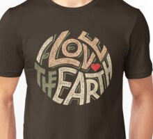I Love the Earth Unisex T-Shirt