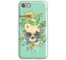 Summer skullin' iPhone Case/Skin