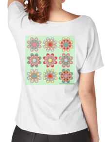 Holiday Cheer Foot Flowers Women's Relaxed Fit T-Shirt