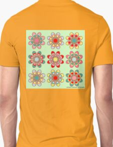 Holiday Cheer Foot Flowers Unisex T-Shirt