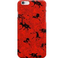 Hide and Seek Red iPhone Case/Skin