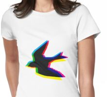 CMYK Sparrow Womens Fitted T-Shirt