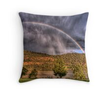 Stormy Surprise Throw Pillow