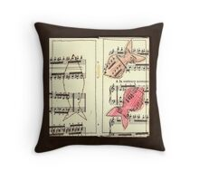 Fish contrary movement Throw Pillow