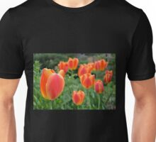 Two Tone Orange Tulips Unisex T-Shirt