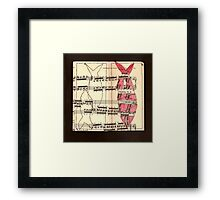 Fish in sixths Framed Print
