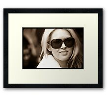 Agent 99 Framed Print