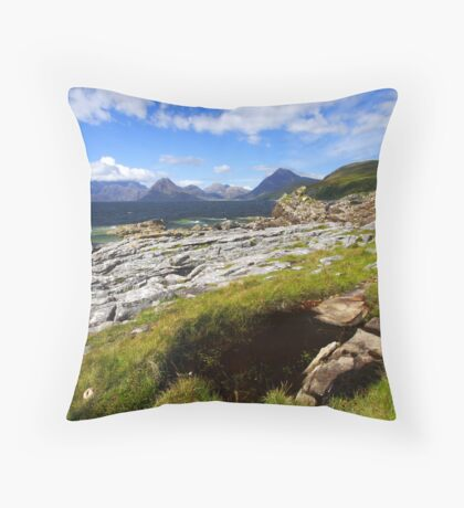 The Cuillins - Isle of Skye Throw Pillow