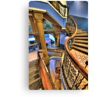 Off The Rails - QVB, Sydney - The HDR Experience Canvas Print