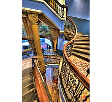 Off The Rails - QVB, Sydney - The HDR Experience Photographic Print