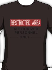 Team Fortress 2 - Restricted Area T-Shirt