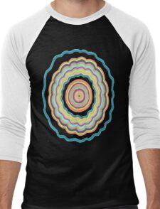 Round and Round Men's Baseball ¾ T-Shirt
