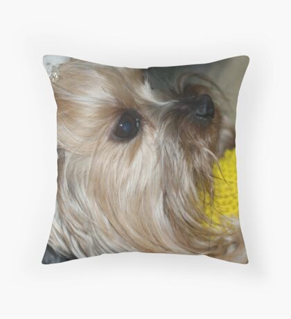 Possessions ! Throw Pillow