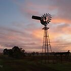 Windmill Sunrise by Tristen Murray