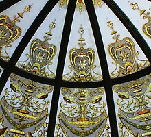 Glass Cupola, Lanach Castle by Christopher Biggs