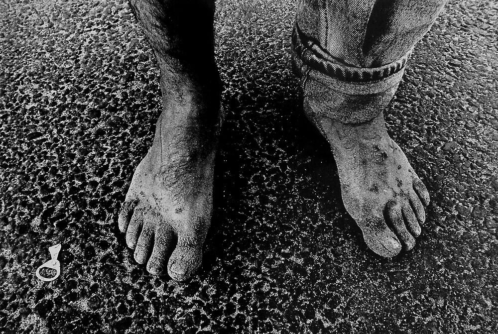 Feet of an Italian by Philip  Rogan
