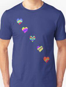 Rainbow Hearts T-Shirt T-Shirt