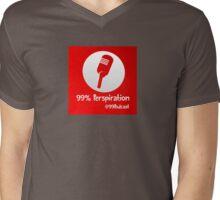 99% Perspiration Mens V-Neck T-Shirt