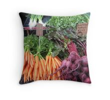 carrots and beets Throw Pillow