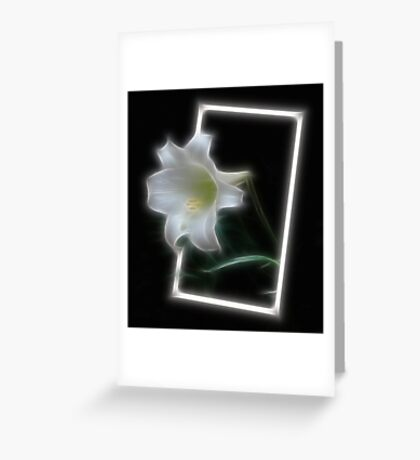 OOB Lily Greeting Card