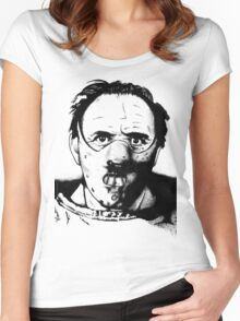 Hannibal the Cannibal Women's Fitted Scoop T-Shirt