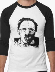 Hannibal the Cannibal Men's Baseball ¾ T-Shirt
