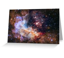 Westerlund 2 — Hubble's 25th Anniversary Image - Hubble Space Telescope Greeting Card