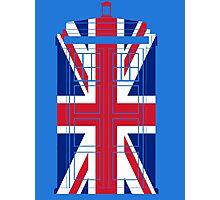 Tardish Flag Photographic Print