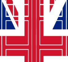 Tardish Flag Sticker