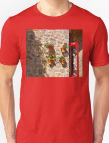 Geraniums And Necklaces T-Shirt
