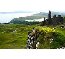 Old man of storr, Isle of Skye, Scotland Photographic Print