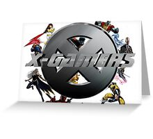 X-Gamers Assemble Greeting Card