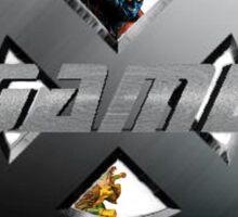 X-Gamers Assemble Sticker