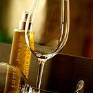 A glass of wine by Etienne RUGGERI Artwork