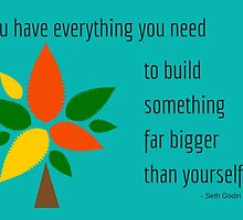 You have everything you need  by IdeasForArtists