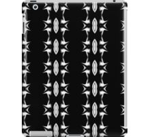 Barbed Wire Black and White Pattern iPad Case/Skin