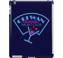 Obi-Wan Night Club iPad Case/Skin